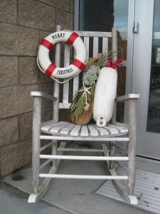 Dec Christmas Rocking Chair Nautical Ann Landis