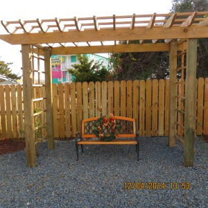 Padget Garden Pergola after extension