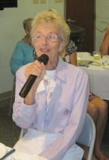 Past President Sandy Miller
