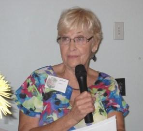 Past President Marlene Hahn
